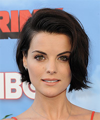 Jaimie Alexander Short Straight Casual    Hairstyle   - Dark Brunette Hair Color