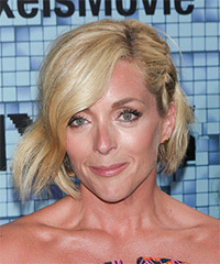Jane Krakowski Medium Straight Casual    Hairstyle   -  Golden Blonde Hair Color