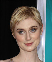 Elizabeth Debicki Short Straight Casual    Hairstyle   - Light Golden Blonde Hair Color