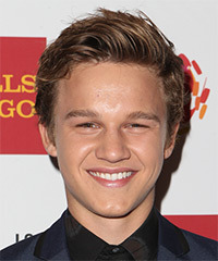 Gavin MacIntosh Short Straight Casual    Hairstyle   -  Chestnut Brunette Hair Color