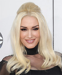 Gwen Stefani Long Straight Formal    Hairstyle