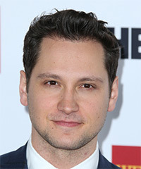 Matt McGorry Short Straight Casual    Hairstyle   - Dark Brunette Hair Color