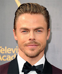 Derek Hough Short Straight Formal    Hairstyle   - Dark Blonde Hair Color
