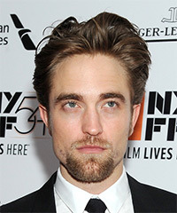 Robert Pattinson Short Straight Casual    Hairstyle   -  Chestnut Brunette Hair Color