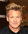 Gordon Ramsay Short Wavy Casual    Hairstyle   -  Blonde Hair Color