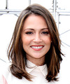 Italia Ricci Medium Straight    Brunette   Hairstyle