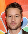 Justin Hartley Short Wavy Casual    Hairstyle   -  Brunette Hair Color