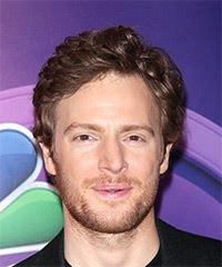 Nick Gehlfuss Short Wavy Casual    Hairstyle   -  Brunette Hair Color