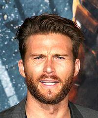 Scott Eastwood Short Straight Casual    Hairstyle   -  Brunette Hair Color