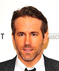 Ryan Reynolds Short Straight Casual    Hairstyle   -  Brunette Hair Color