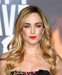 Caity Lotz Long Wavy Casual    Hairstyle   - Dark Blonde Hair Color