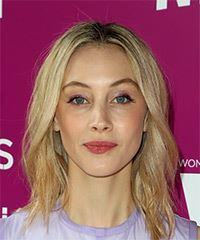 Sarah Gadon Medium Straight Casual  Bob  Hairstyle   -  Blonde Hair Color