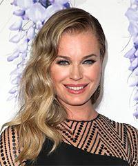 Rebecca Romijn Long Wavy Formal    Hairstyle   -  Blonde Hair Color