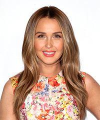 Camilla Luddington Long Straight Casual    Hairstyle   - Dark Blonde Hair Color