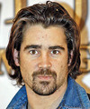 Colin Farrell Long Straight Casual    Hairstyle