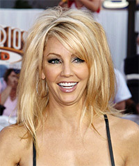 Heather Locklear Long Straight Casual    Hairstyle