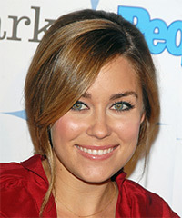 Lauren Conrad Long Straight Formal   Updo Hairstyle