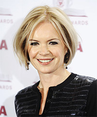 Mariella Frostrup Short Straight Casual    Hairstyle