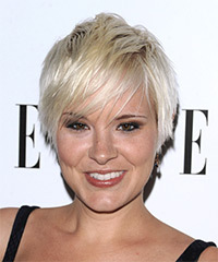 Brea Grant Short Straight Casual    Hairstyle