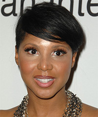 Toni Braxton Short Straight Casual    Hairstyle